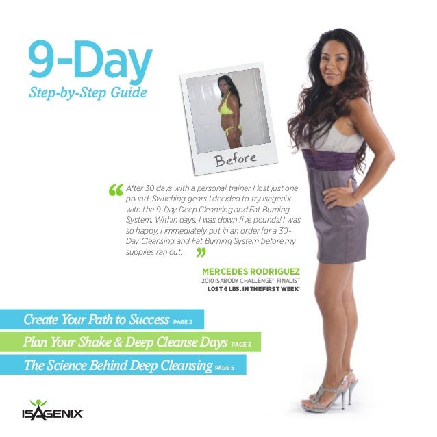 Isagenix 9-Day Deep Cleansing and Fat-Burning System - System Guide