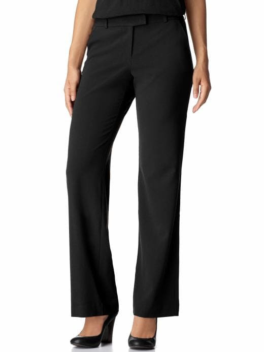 Old Navy Womens New Black Essential Classic Rise Trousers