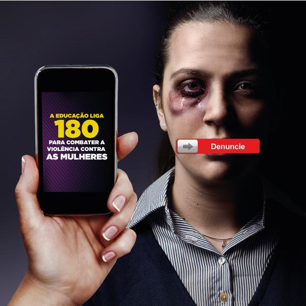 violencia contra a mulher ligue 180 post