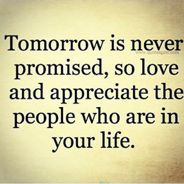 Tomorrow Is Never Promised Pictures Photos And Images For Facebook