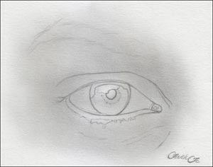 eye drawing lesson