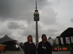 Olympiaturm kat Olympiapark, Munich, Germany