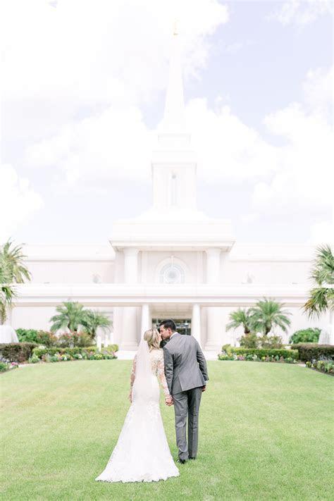 Orlando LDS Temple Wedding Ceremony and Sealing Sneak Peek