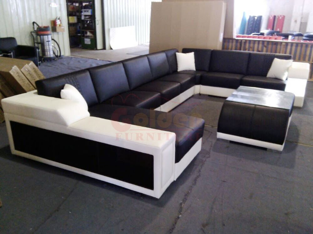 New L Shaped Leather Sofa Set Designs Furniture Price A823 ...
