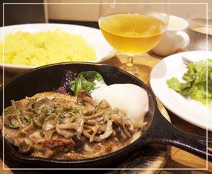 新宿でビール&肉料理ランチ