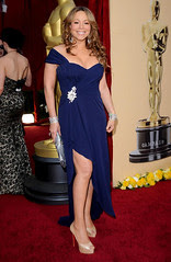 Mariah Carey at the 82nd Annual Academy Awards