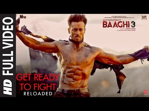 Get Ready to Fight Reloaded Song Lyrics | Tiger S, Shraddha K| Pranaay, Siddharth Basrur