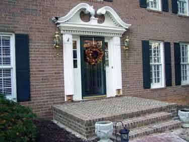 Front Porch Remodel | Small Porch | Small Front Porch