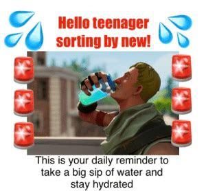 teenager sorting      daily reminder