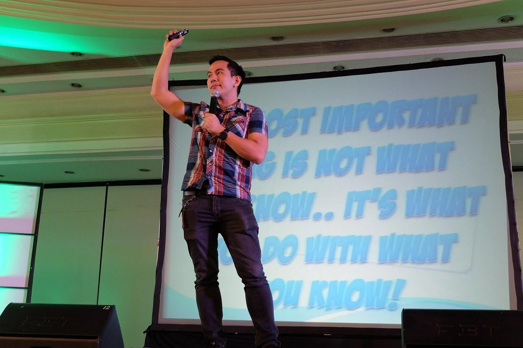 The Future Me Talk by Pocholo The VoiceMaster Gonzales