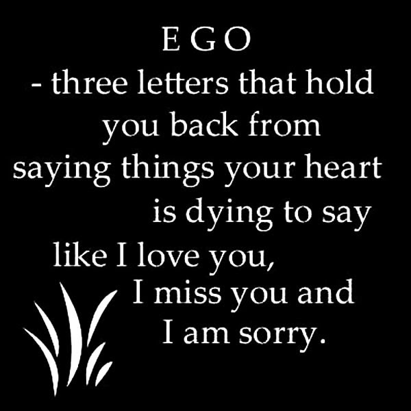 Ego Quote Quote Number 548259 Picture Quotes
