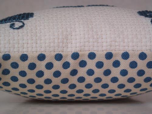 cushion made by Mary