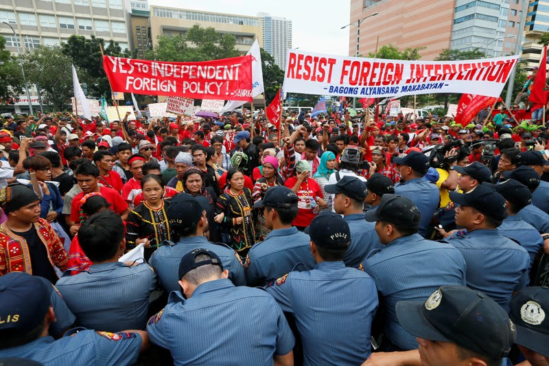 Netizen on US embassy incident: No criminal liability for police
