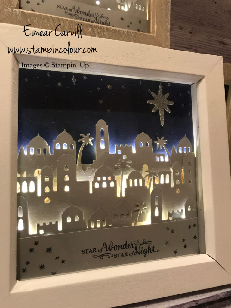 Bethlehem Light Up Frame With Video Tutorial