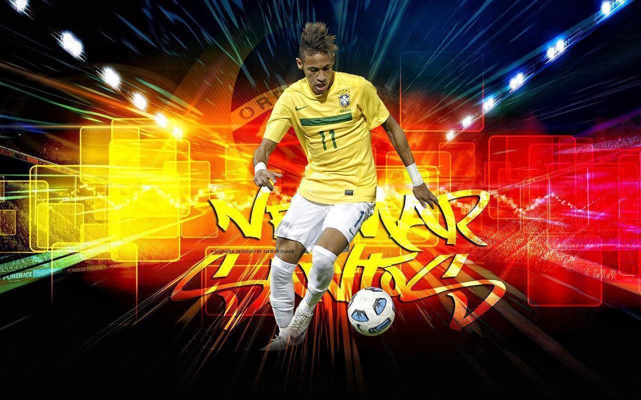 2015 FIFA Brazil Neymar 3D Wallpapers - Wallpaper Cave