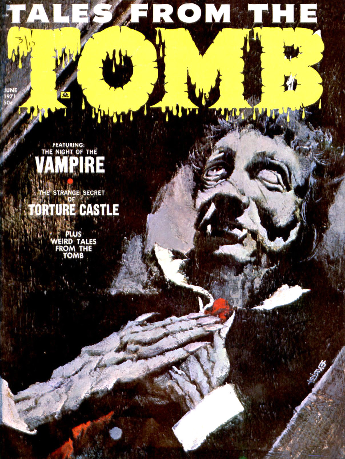 Tales from the Tomb - Vol. 3 #3 (Eerie Publications, 1971)