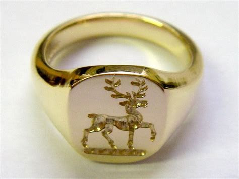 Pin by elitalshop on Gold Signet Ring in 2019   Jewelry
