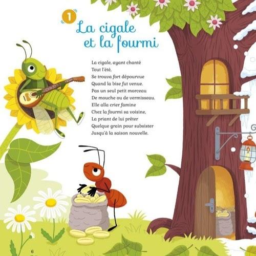 Poesie La Cigale Et La Fourmi De Jean De La Fontaine Coleccion