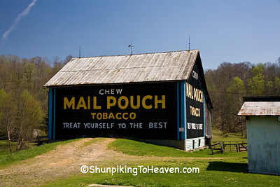 Refurbished Mail Pouch Tobacco Barn, Washington County, Ohio
