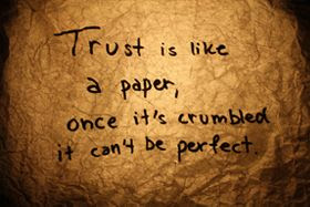 Broken Trust Quotes Quotes About Broken Trust Sayings About