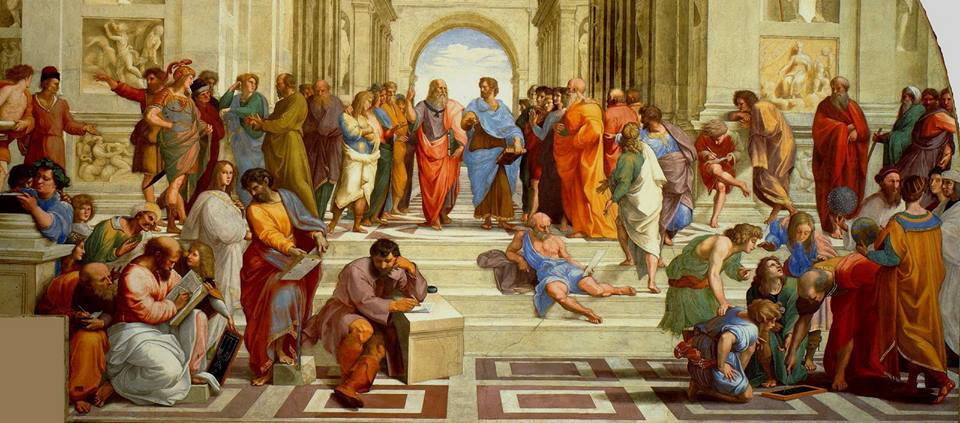 La escuela de Atenas, de Rafael