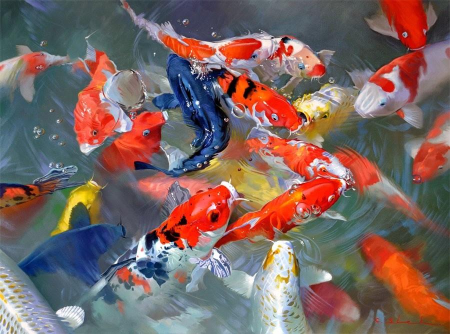 Lucky fish счастливая рыба игровой автомат кредитам онлайн