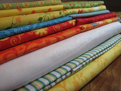Kaleidoscope QAL: Fabric!