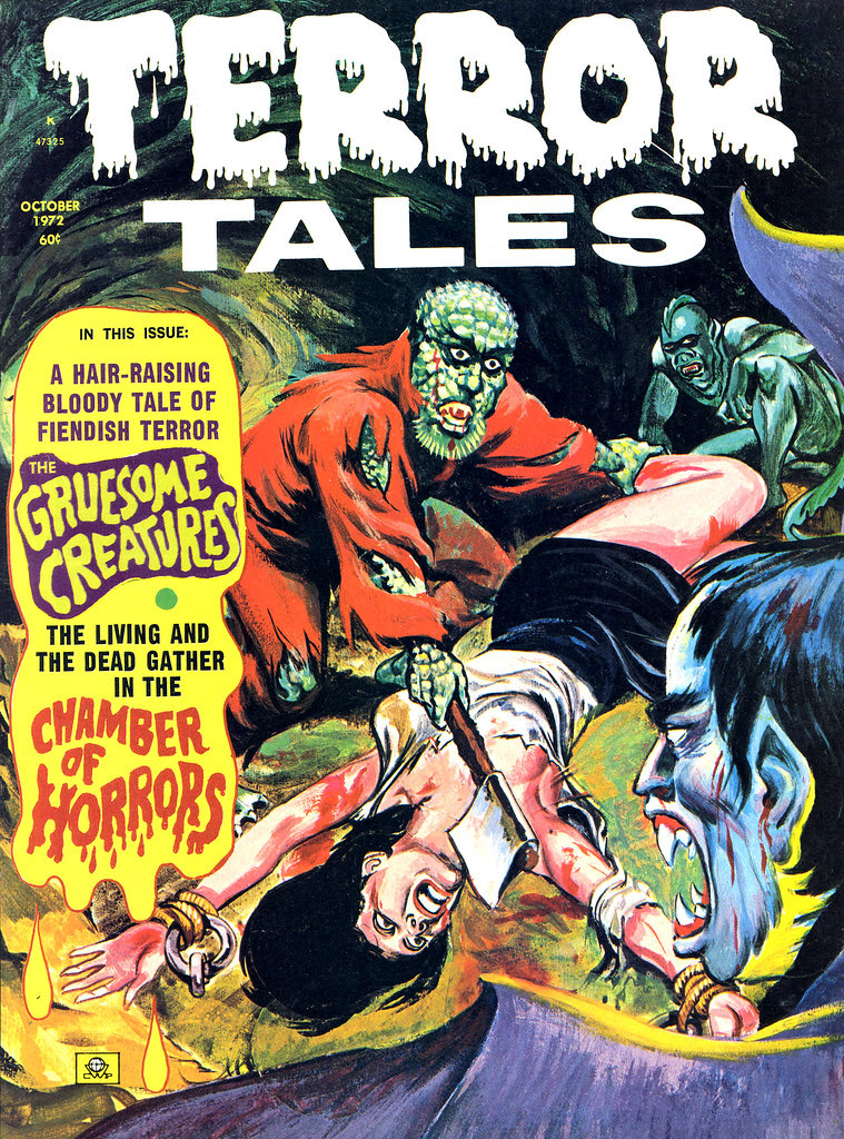 Terror Tales Vol. 04 #6 (Eerie Publications, 1972)