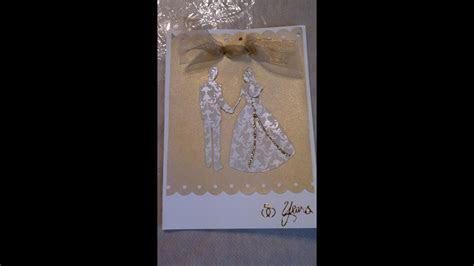Handmade Wedding Invitation or Anniversary Card   YouTube