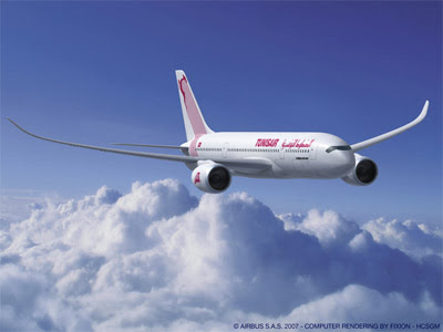 A Tunisair A350 (Airbus SAS)