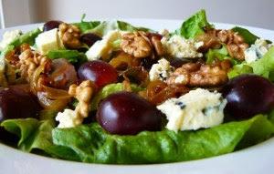 ensalada uvas