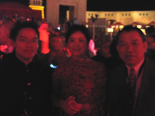With Brigitte Lin, Dubai Film Fest 2008 Closing Ceremony
