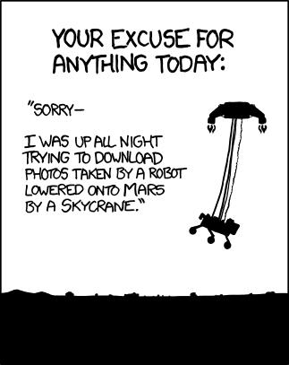 xkcd #1091: 'Curiosity'