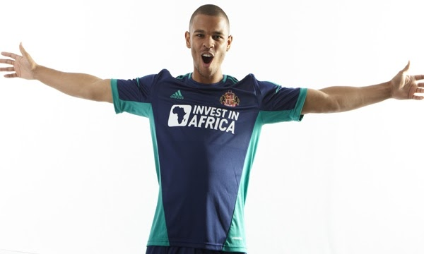 Sunderland New Kit 2012-13- Invest in Africa SAFC Away Shirt 12-13