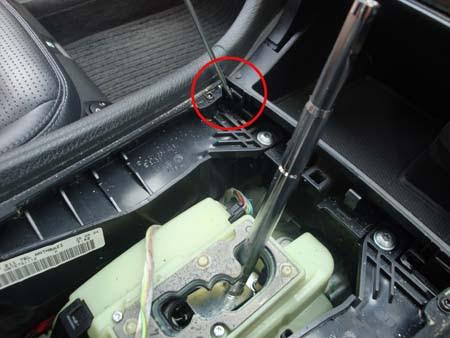 Mercedes W211 E class ashtray lock clip picture