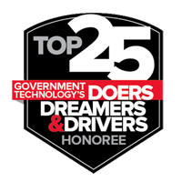 Government Technology's Top 25 Honoree