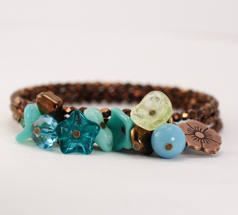 Ocean Garden Posy Bracelet