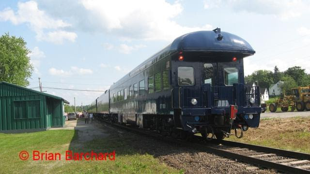 Pan Am Railway cars in Harvey. Photo by Brian Barchard.
