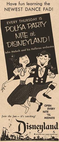 Polka Party Nite at Disneyland, 1957