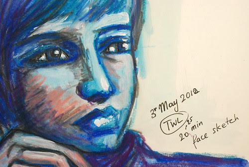 15-20mins Portrait nr 2 3rd May