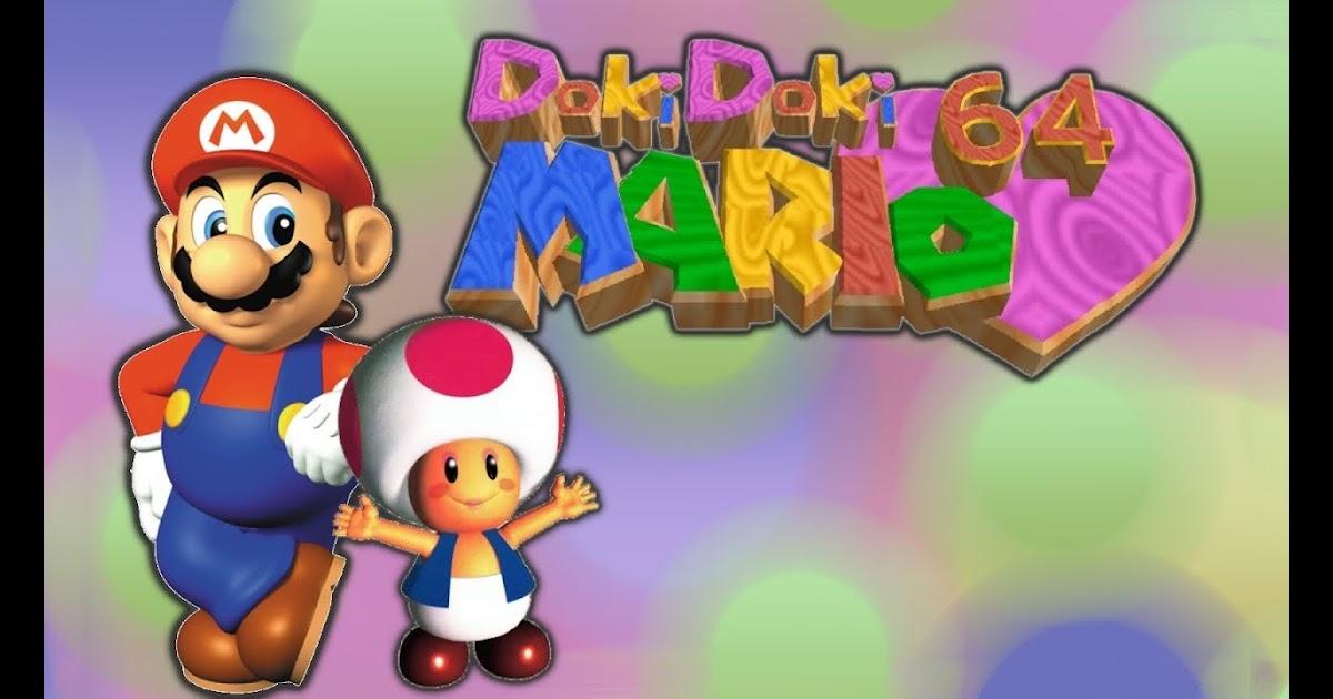 Doki Doki Mario 64 Release & Download Kaze Emanuar