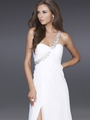 Cheap white evening dresses