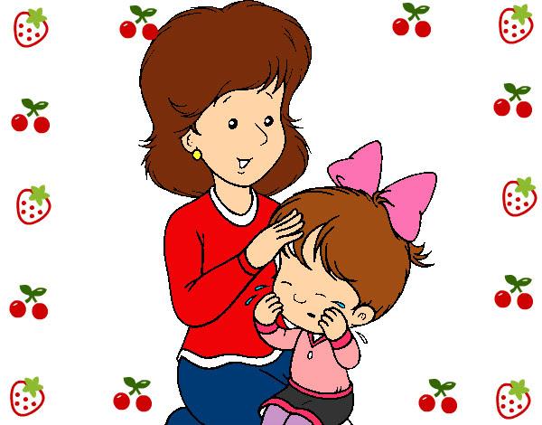 Dibujo De Madre Pintado Por Adoracion En Dibujosnet El Día 10 05 13