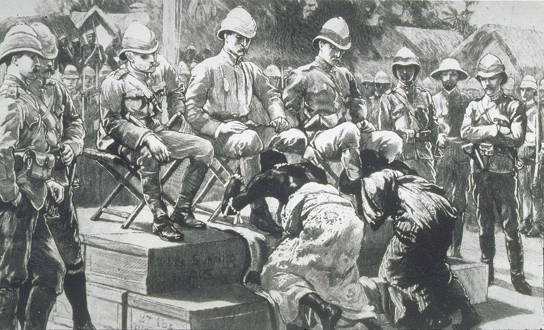 Image result for 8,000 men had been involved in the clean up project including troops from Britain, West Africa and India itself.