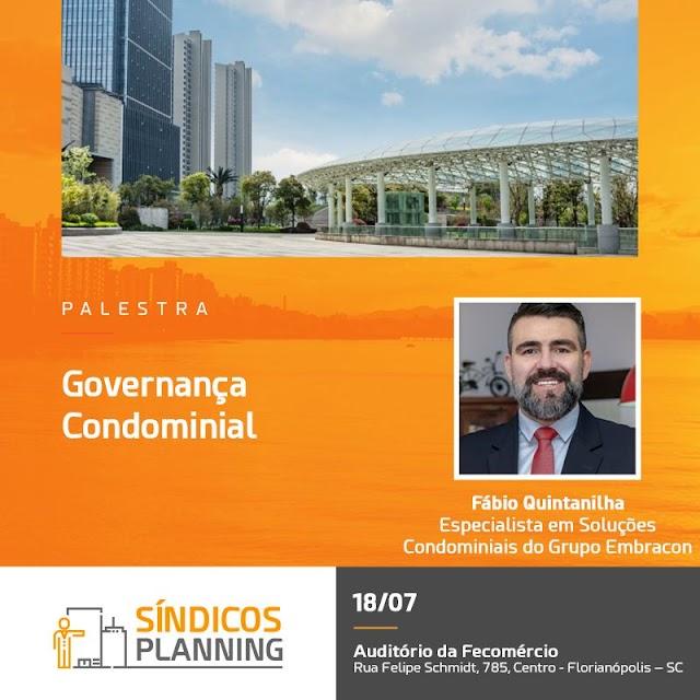 Governança Condominial é tema de evento direcionado à síndicos
