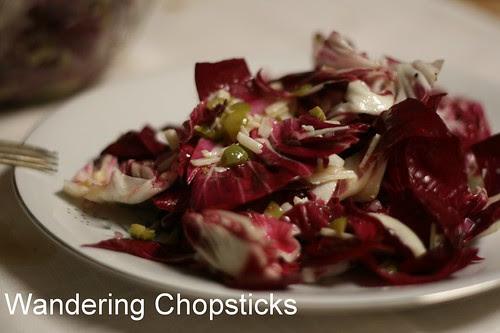 Spanish Radicchio Salad with Manchego Olive Vinaigrette 2