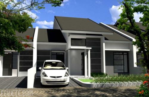 Rumah Minimalis Type 70 Dengan Desain Unik