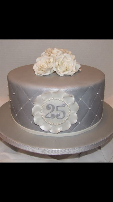 The 25  best 25th anniversary cakes ideas on Pinterest