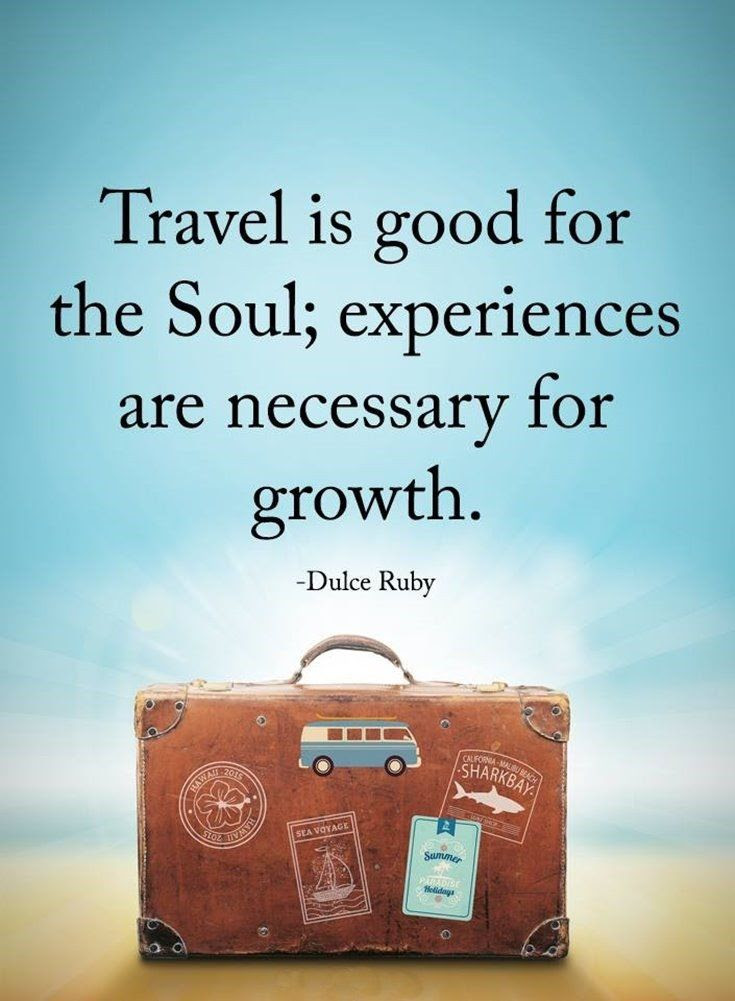 Travel Is Good For The Soul Pictures, Photos, and Images ...