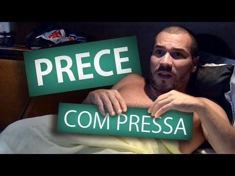 PRECE COM PRESSA